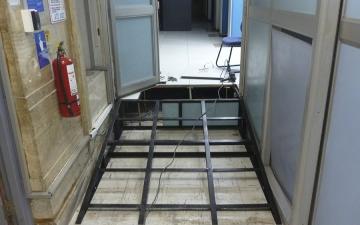 Estructura metálica para ramapa